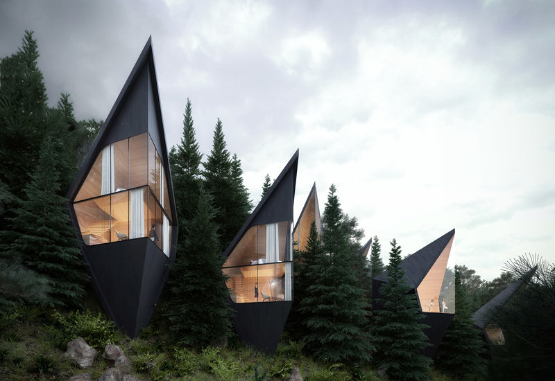 Pointy Mountain Treehouses