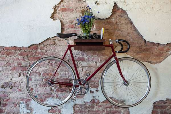Multipurpose Bike Shelves