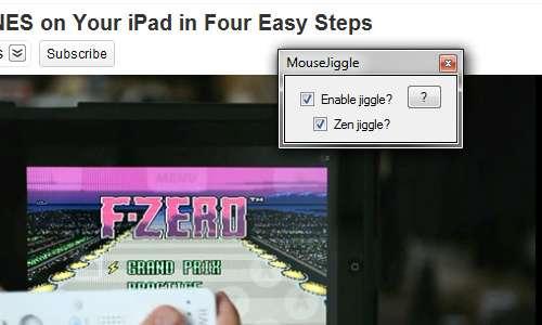 Screensaver-Thwarting Apps : Mouse Jiggler