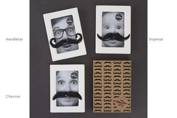 Mustached Picture Frames