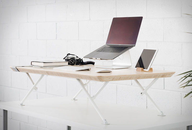 Automated Standing Desk Attachments