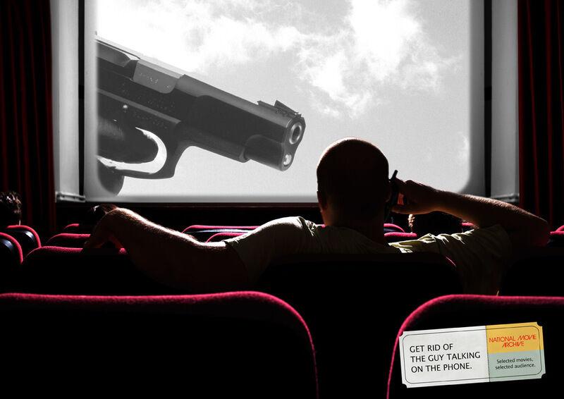 Obnoxious Movie Guy Ads