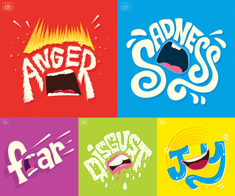 Vibrant Emotional Illustrations
