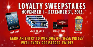Redeemable Theatre Rewards