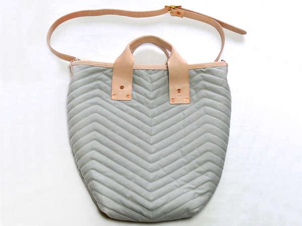 Utilitarian Blanket-Inspired Bags