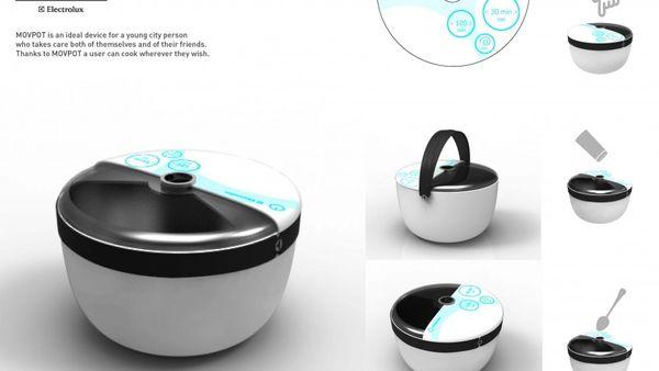 Modern Mobile Saucepans