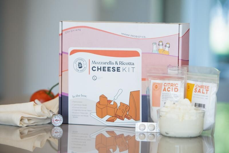 Combined Cheese-Making Kits