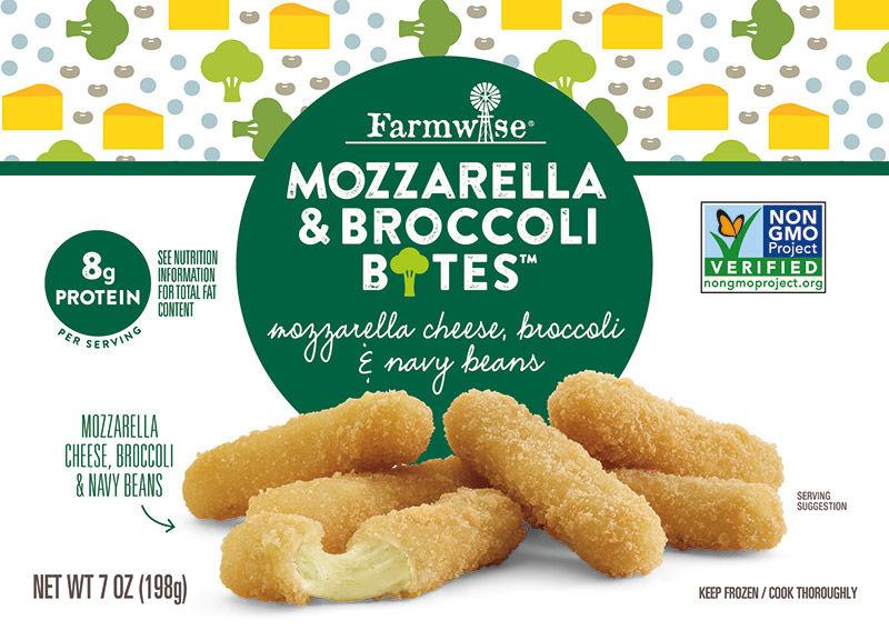 Broccoli-Infused Mozzarella Bites