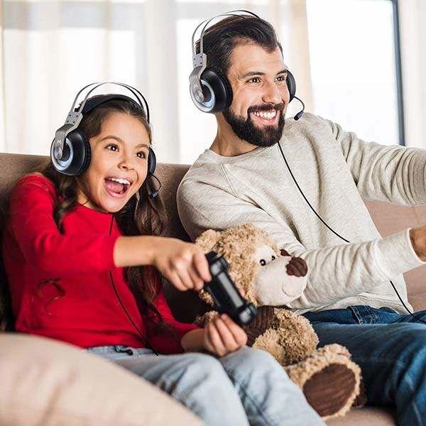 3D Sound Gamer Headsets