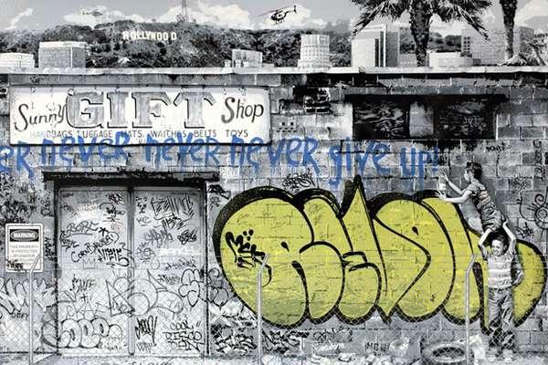 Legal Aid Graffiti Prints