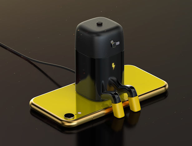 Anthropomorphized Smartphone Chargers