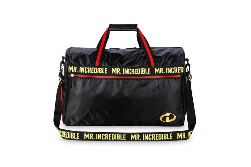 Sleek Cartoon Duffel Bags