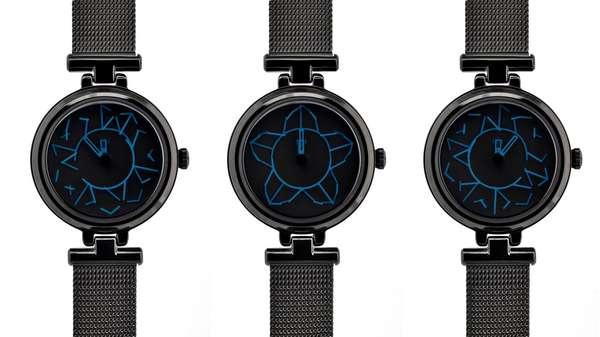 Sleek Floriography Timepieces