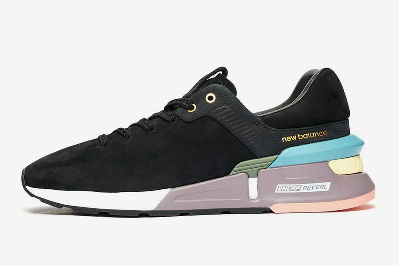 Contemporary Color-Blocked Sneakers