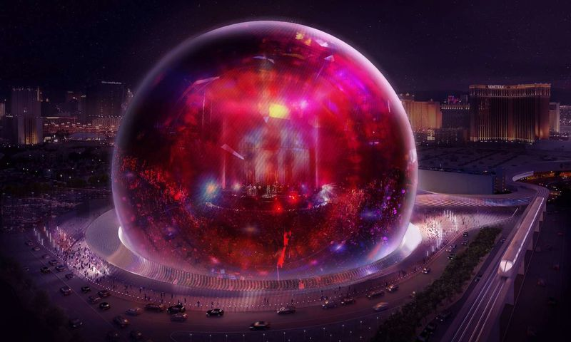 Spherical Event Venues