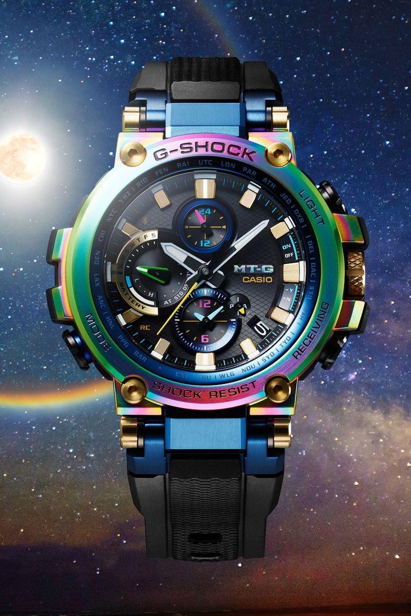 Rainbow Tinted Chunky Watches