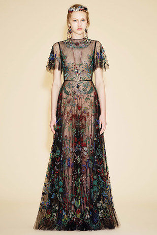 Aboriginal Art Inspired Dresses