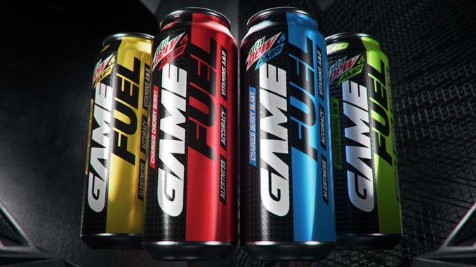 Energy Boosting Gamer Beverages