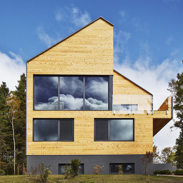 Modernist Plywood Abodes