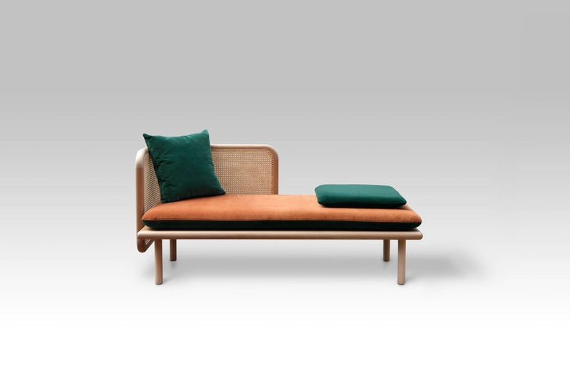 Mixed-Material Contemporary Sofas
