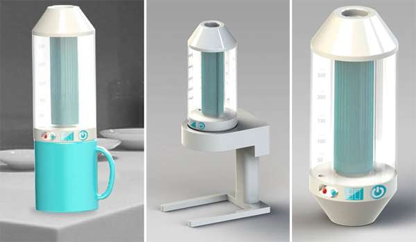 Dyson-Inspired Coffee Makers