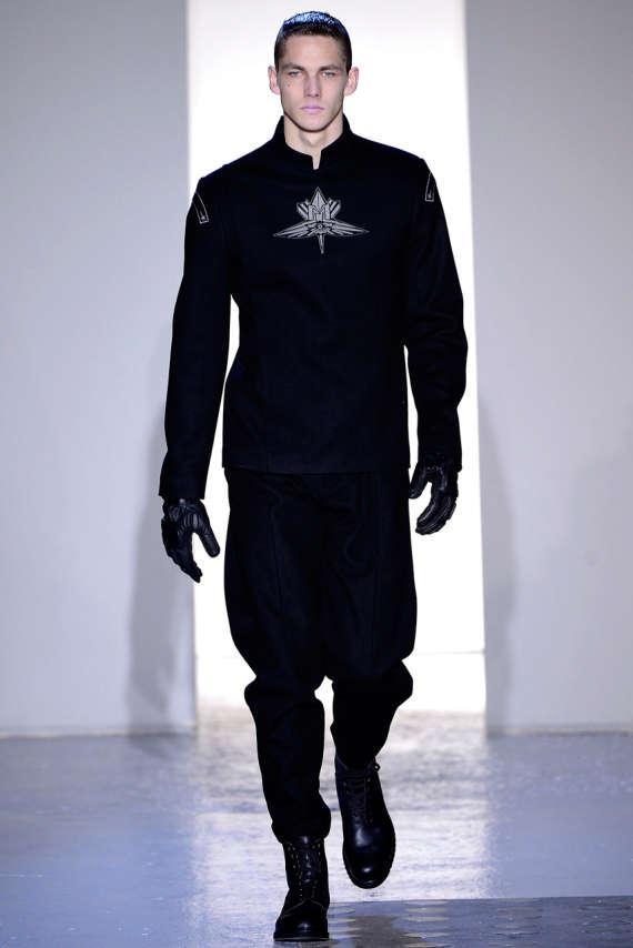 Futuristic Military Menswear