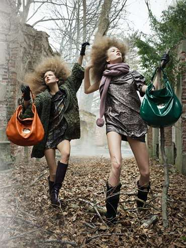 Frolicking Forest Fashion