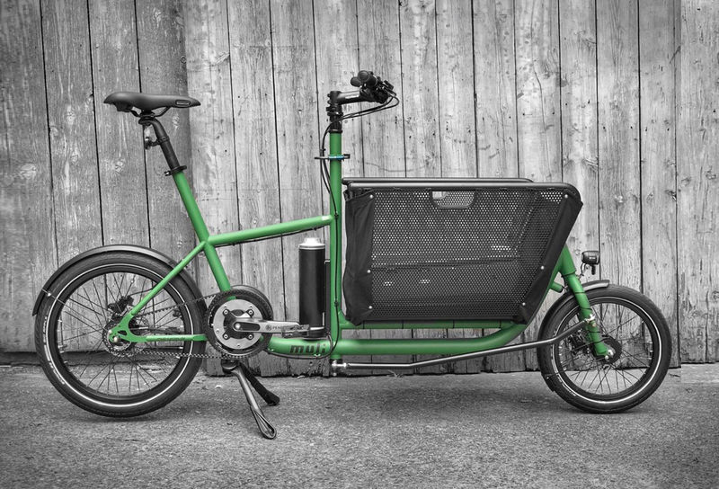 Multifunctional Urban Cargo Bikes