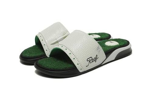 Bespoke Golf-Themed Shower Sandals