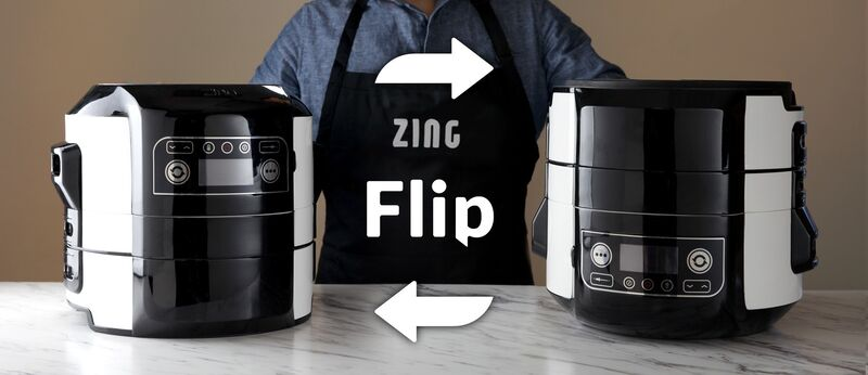 Flippable Multi-Cookers