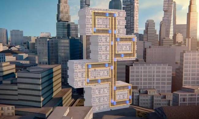 Vertical Mass Transit Systems