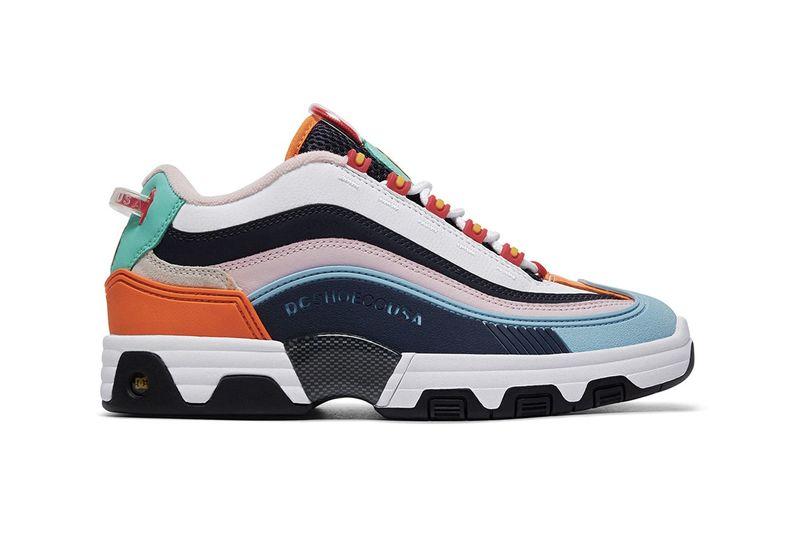 Vibrant Paneling Seasonal Sneakers