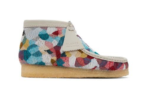 Intricately Woven Colorful Footwear