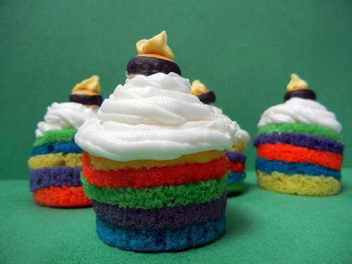 Scrumptious Multi-Colored Desserts