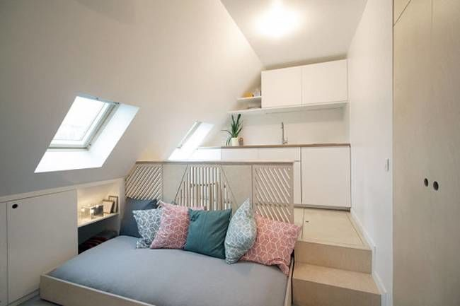 Multifunctional Attic Apartments