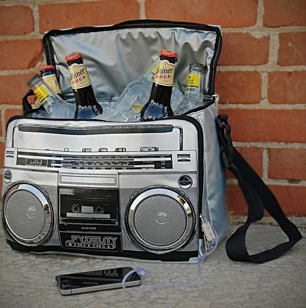 Booze-Holding Boomboxes