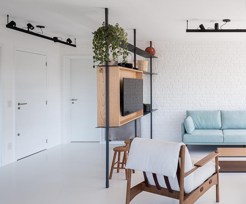 Minimalist Multifunctional Room Dividers
