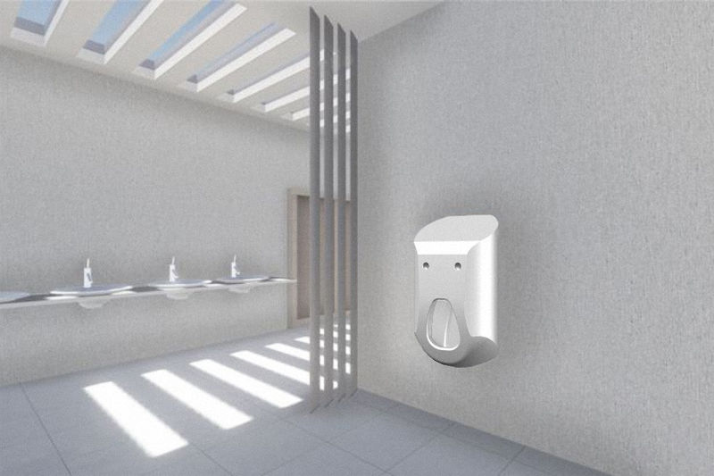 Soap-Dispensing Urinals