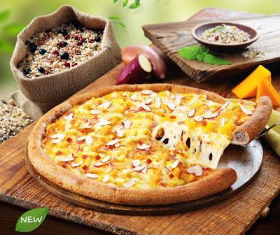 Healthy Multigrain Pizzas