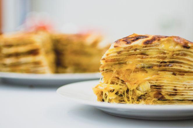 Cheesy Quesadilla Cakes