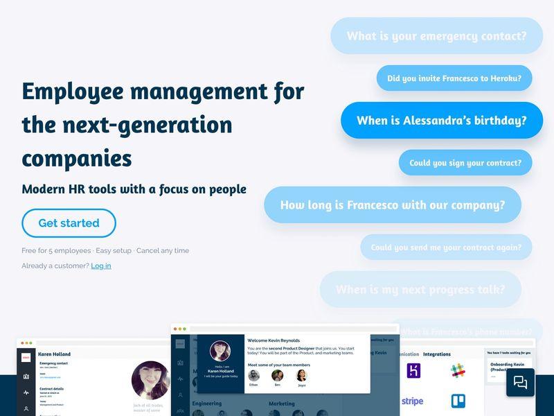 Next-Generation HR Tools