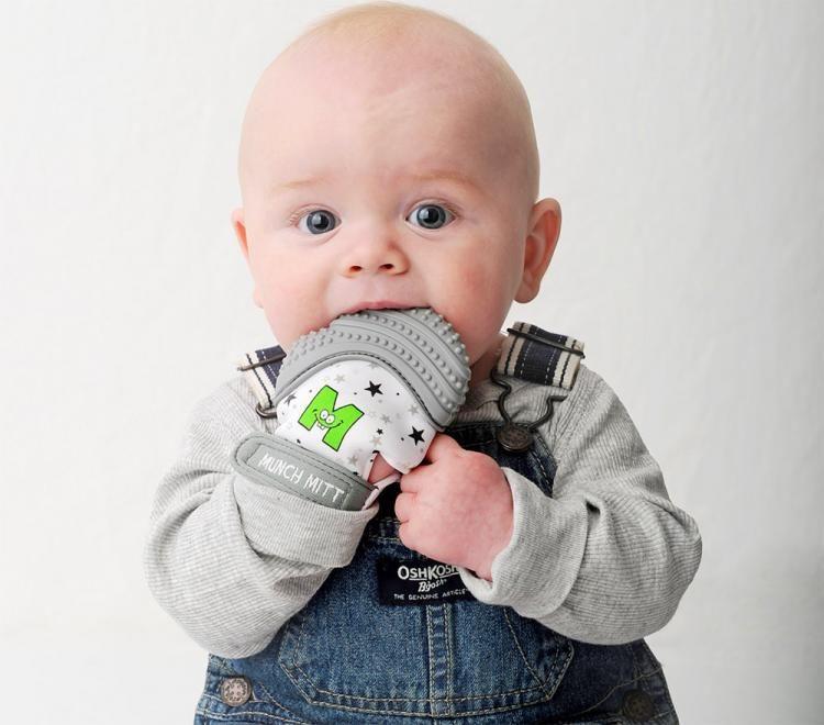 Hygienic Baby Teething Mitts