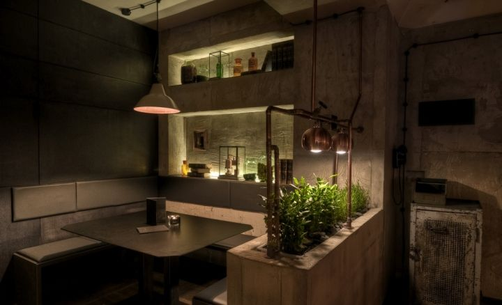 Industrial Lab-Inspired Eateries