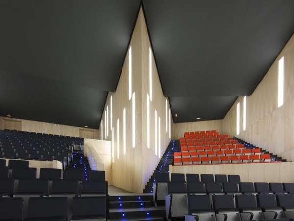 Sharply Angular Theatres