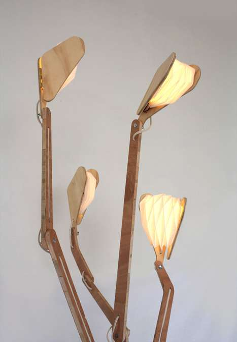 Enlightening Arboreal Lamps