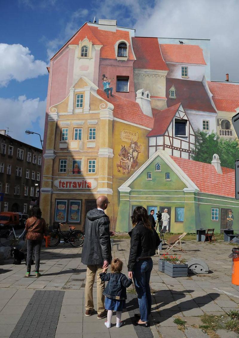 Nostalgic Market Murals