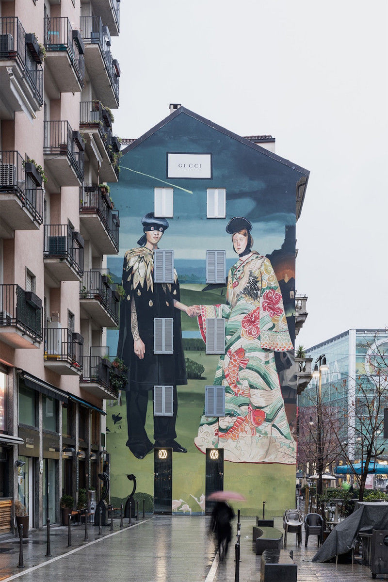 High Fashion City Murals