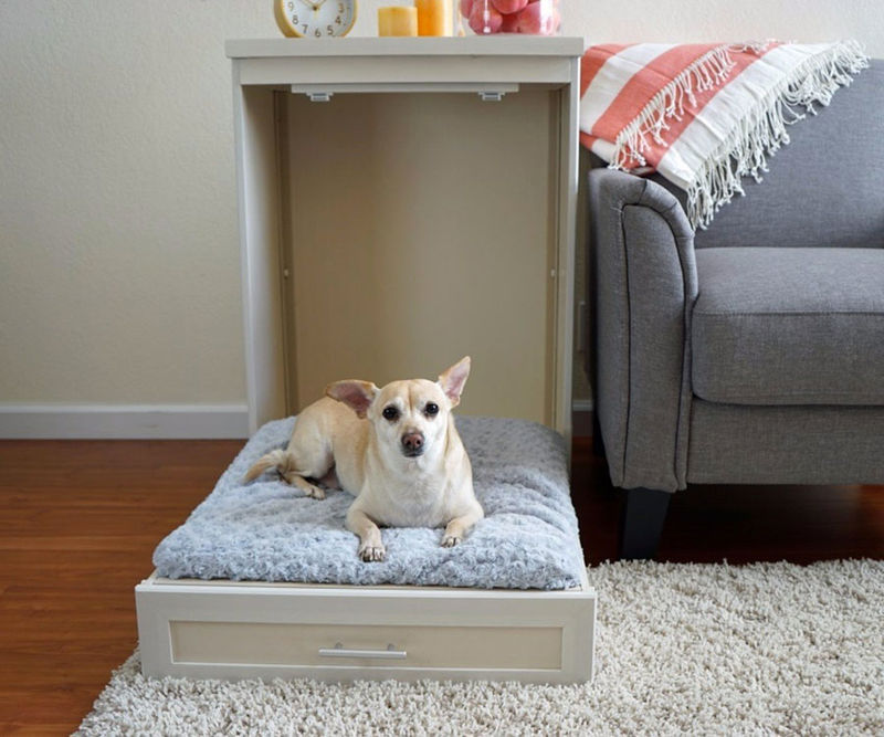 Space-Saving Pet Bed Furniture