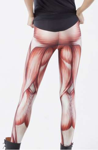anatomic tights : muscles leggings,