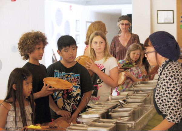 Sustainable School Cafeterias